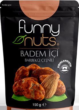 Funny Nuts Badem İçi Barbekü Çeşnili