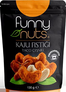 Funny Nuts Kaju Fıstığı Taco Çeşnili