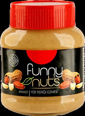 Funny Nuts Yer Fıstığı Ezmesi Şekersiz
