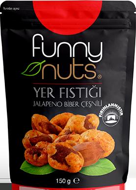 Funny Nuts Yer Fıstığı Jalapeno Biber Çeşnili